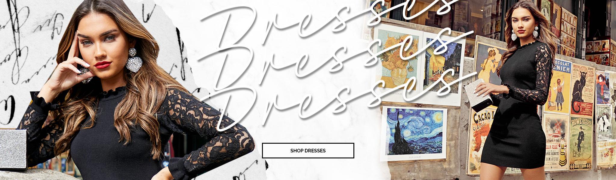Women's Dresses, Tops, Shoes, Plus-Size Clothing & More